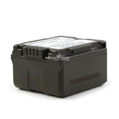 VBG-130 Compatible 7.4V 1400mAh Battery Pack for Panasonic SDR-H60 and More CB172360-As picture