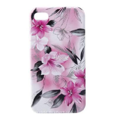 lagging protective pvc case cover for iphone 4 CFI198410-As picture