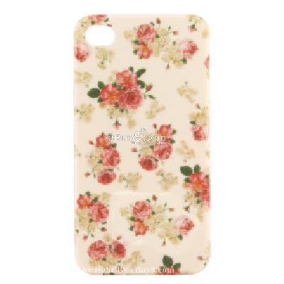 stylish flower hard case for iphone4g CFI206631-As picture