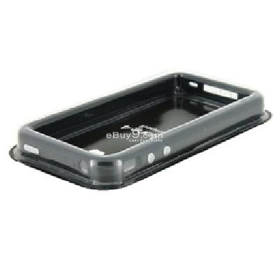 plastic protective ultra-sloim iphone 4g bumper frame skin case cover with power switch volume control CA59B-As picture