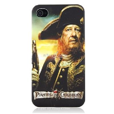 open face iphone 4 plastic case CU43X-As picture