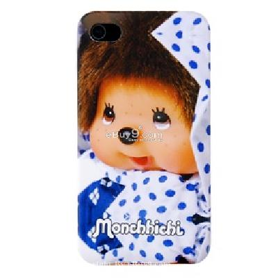 open face iphone 4 plastic case CU75X-As picture