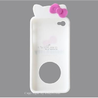silicone case for iphone4 CX22W-As picture