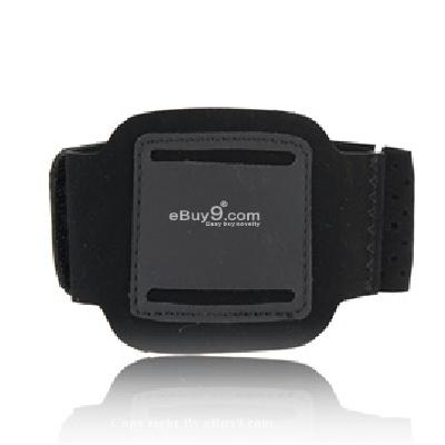 armband sport case for apple ipod nano 6th generation (black) cs153B-Black