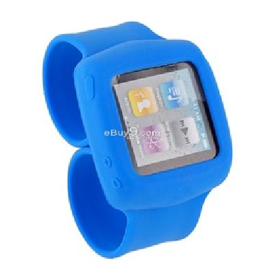 griffin flexible silicon wristband for ipod nano6 (blue) cs201l-Blue