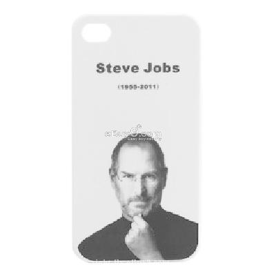 protective back case for apple iphone 4 - in memorial of steve jobs series CFI227949-As picture