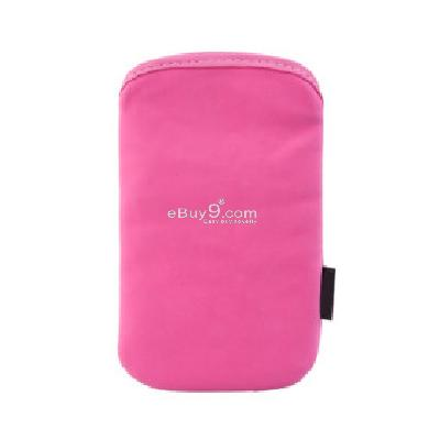 Protective Soft Pouch Bag for iPhone (Pink) CFI112278-As picture