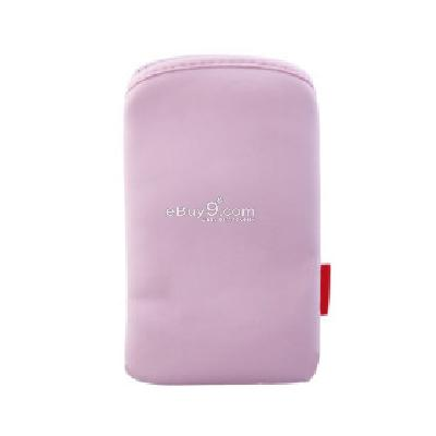 Protective Soft Pouch Bag for iPhone (Light Pink)CFI112285-As picture