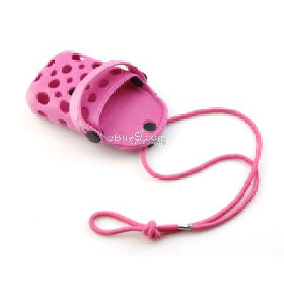 Slipper Shoe Charm Holder Case for iPhone iPod Cell phone CFI172220-As picture