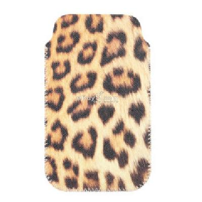 Leopard Leather Cell Phone Protective Case for IPhone and More CFI192865-As picture