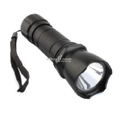 MXDL 126 3W LED Flashlight 3XAAA Black -As picture