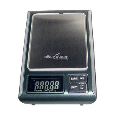 Portable Digital Pocket Scale (QW002) DS095158-As picture