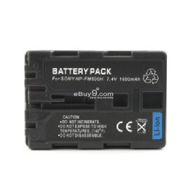 NP-FM500H Compatible 7.4V 1600mAh Battery Pack for Sony A100 A200 and More DCB172311-As picture