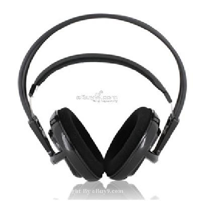 V1 Full Size Headset for PC Gamers with Mic P408B}-Black