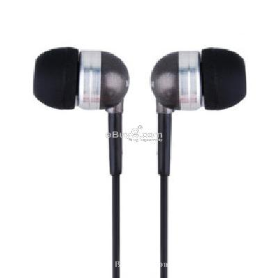 Kanen In-Ear Stereo Earphones + Volume Control (Black) E108142-Black