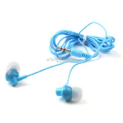 In-Ear Stereo Earphone for MP3 MP4 (Blue) e200275-Blue