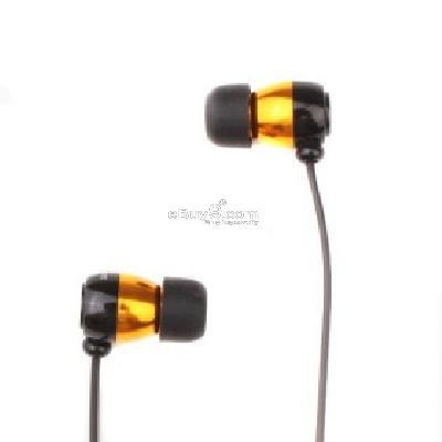 Noise Cancelling In-Ear Stereo Earphone (Orange) E224227-Orange