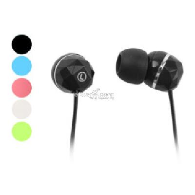 Cube Style In-Ear Earphones (Assorted Colors) E246940-As picture