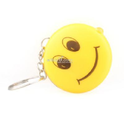 Smiling Faces Led Keychain -As picture