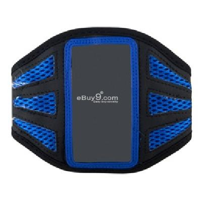 gym sort armband running case armband for ipod touch 4 (blue) g166l-Blue