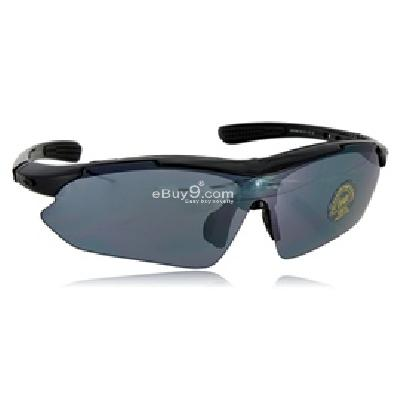 Outdoor Goggles Four Sets of Lenses L663B-Black