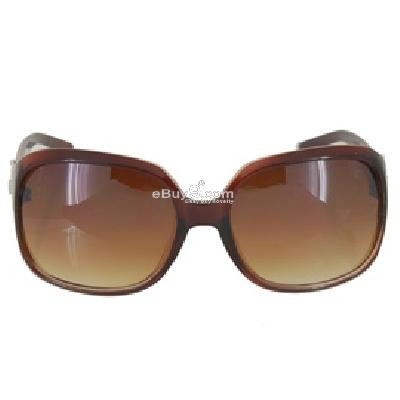 Elegant Lady-Style UV-Protection Sun Glasses P368X-Brown