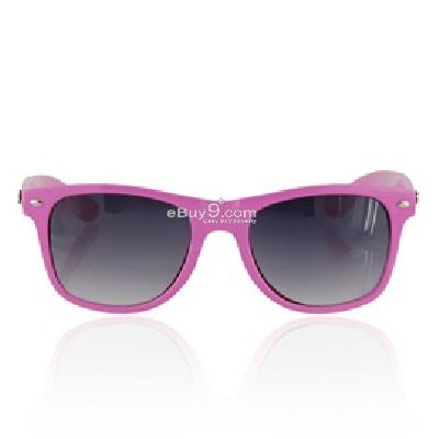 Portable Fashionable Glasses Sunglasses P494P-Pink