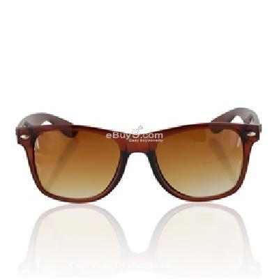 4106 Portable Retro Styled Sunglasses P494X-Brown