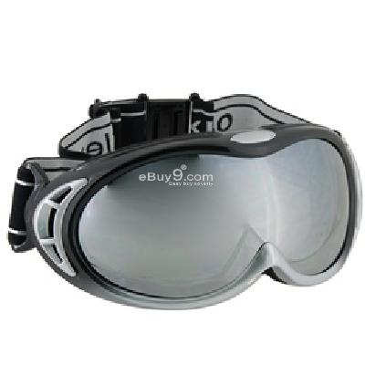 Ski Snowboard Skate UV Protection Goggles P661S-Silver