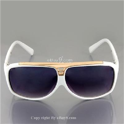 2027 Fashion Protective Eyewear UV Block Sunglasses P731W-White