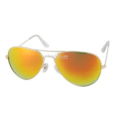 3025 Fashion UV400 Protection Sunglasses P973Y-yellow