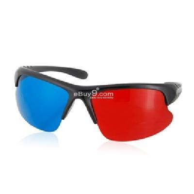 3D Glasses for Movie, TV and Image P976X-Red and blue