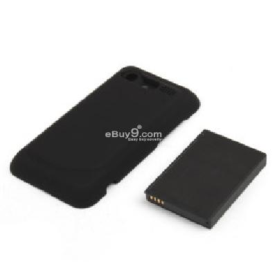 Replacement 3.7V 3500mAh Battery Pack + Back Cover Case for HTC Incredible S (G11) H206531-As picture