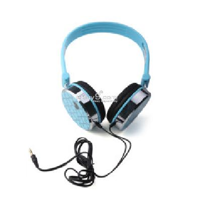 Zumreed Heart Headphones (Blue) H156337}-Blue