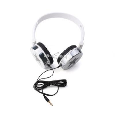 Star Headphones (White) H156344}-White