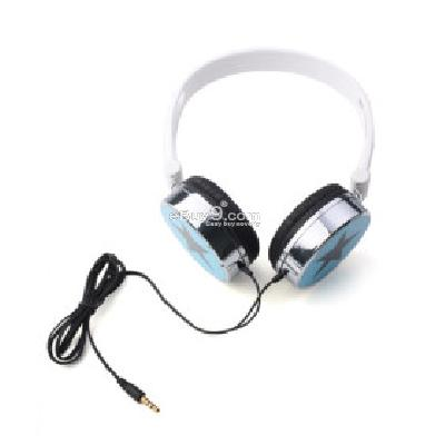 Star Headphones (Blue) H156346}-Blue