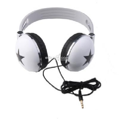 Star Style Headphones (White) H159169-White