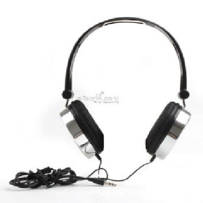 Manji Super Bass Multimedia Headphones (Black) H205098}-Black