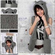 /furry-womens-kawaii-bear-hoodie-gloves-pocket-hat-sherpa-scarf-shawl-fun-kdwjw-p-7428.html