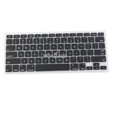 Silicone QWERTY Keyboard Skin for Macbook 13.3 Air (Black) K178632-Black