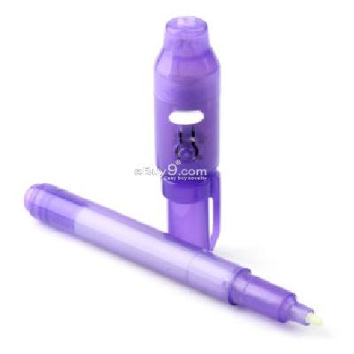 Invisible Ink Uv Pen, Purple -As picture