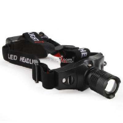 CREE Q5 LED 3-Mode Telescopic Headlight 3XAAA -As picture