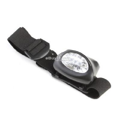5 LED Headlamp 3XAAA BLACK -As picture