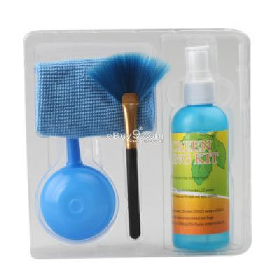 4 in 1 Cleaning Kit for LCD Screen and Keyboard of PC & Notebook LSP197833-As picture
