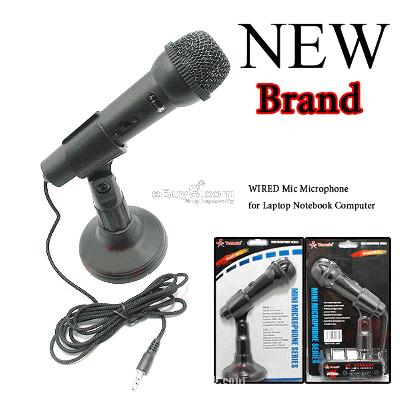 Mic Microphone for Laptop Notebook PC Computer MKfew-Black
