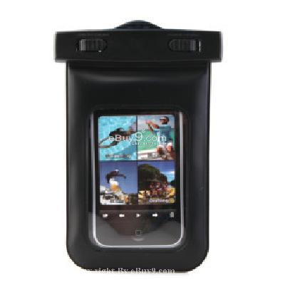 Universal Waterproof Case for iPhone, iPod Touch, Android Smartphones, MP4 Players MP188725-Black