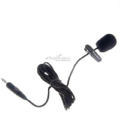 Mini Clip-on Microphone M121872-Black