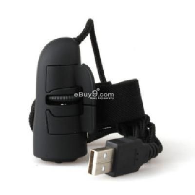 USB Optical Finger Mouse (Black) M082139-Black