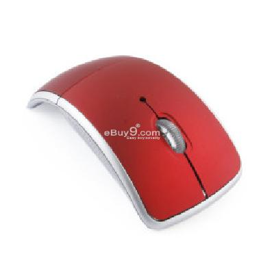 Wireless Mouse + USB 2.4GHz Nano Receiver (Red) M192897-Red