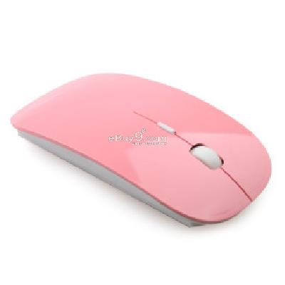 Ultra-Slim USB 2.4GHz Wireless Mouse (Pink) M197881-Pink